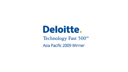 Deloiite Technology Fast 500 Asia Pacific 2009 Winner