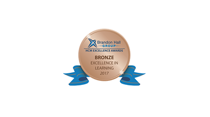 Harbinger Interactive Learning Wins an Award in the 2017 Brandon Hall Group Excellence Award