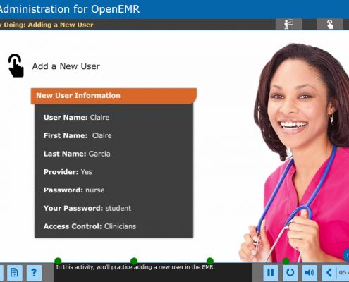 EMR Administration Course Screenshot 5