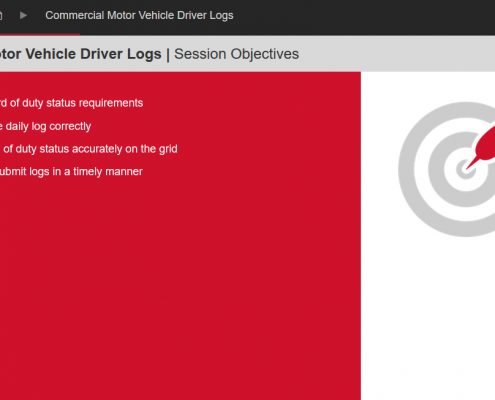 Commercial Motor Vehicle Driving Course Screenshot 2