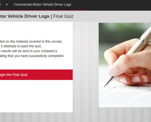 Commercial Motor Vehicle Driving Course Screenshot 6