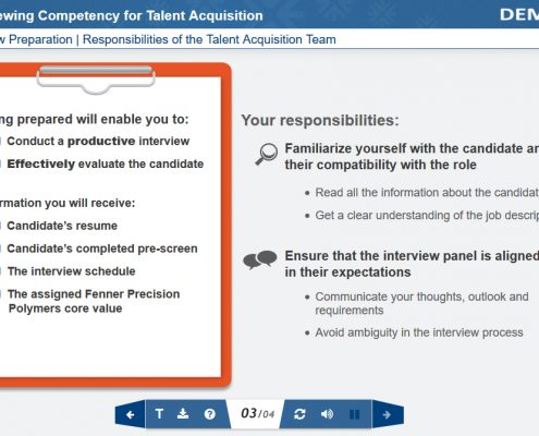 Recruitment Process Screenshot 3