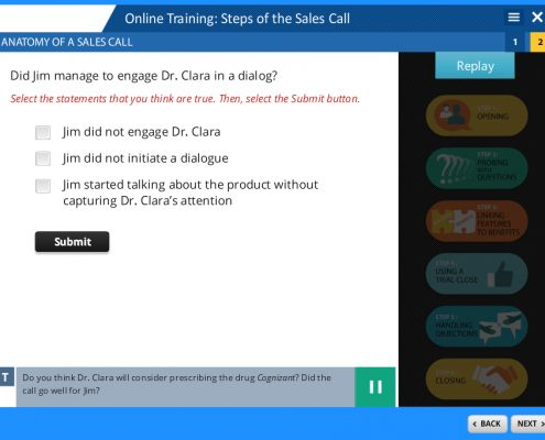 Steps Of The Sales Call Screenshot 3