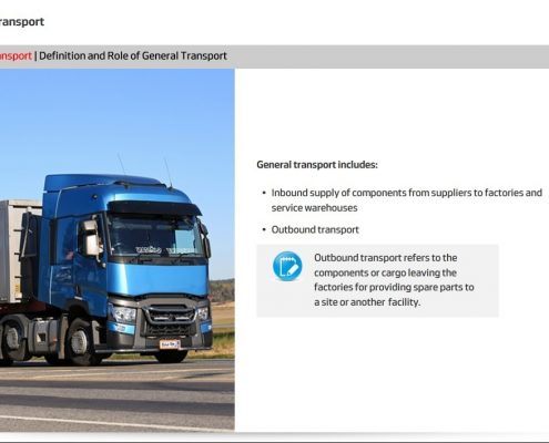 General Transport Course Screenshot 6