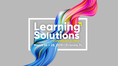 Harbinger Interactive Learning at Learning Solutions Conference & Expo 2019