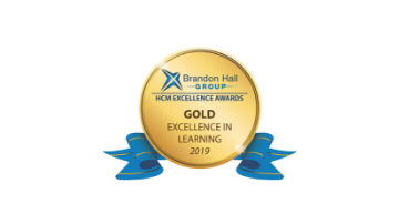 2019 Brandon Hall Group HCM Excellence Awards – Gold Award for Best Advance in Competencies and Skill Development