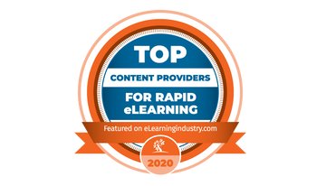 eLearning Industry – Top Content Providers For Rapid eLearning 2020