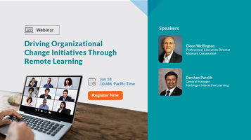 Driving Organizational Change Initiatives Through Remote Learning