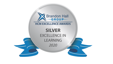 2020 Brandon Hall Group HCM Excellence Awards – Silver Award for Best Advance in Competencies and Skill Development