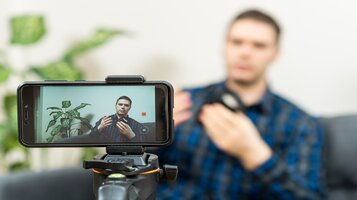 Remote Learning Using Talking Head Videos