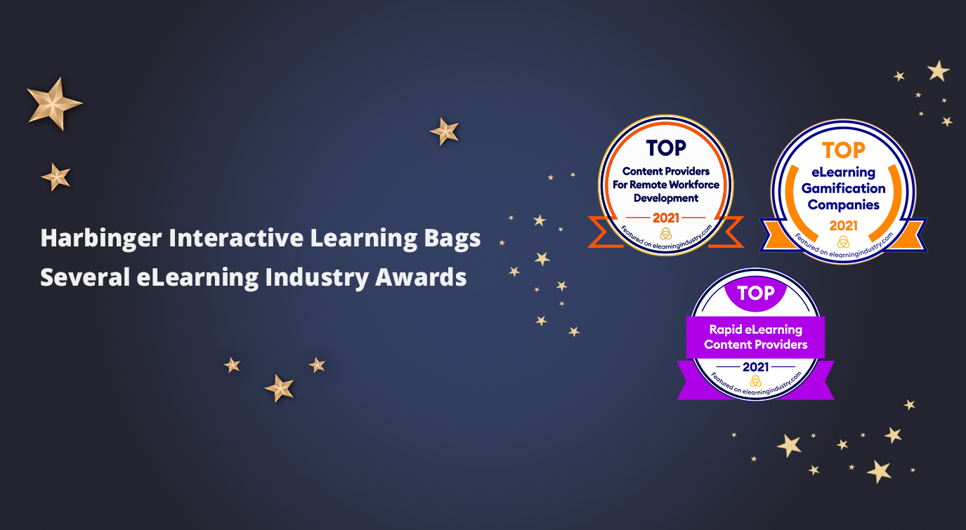 Harbinger Interactive Learning bags several eLearning industry awards