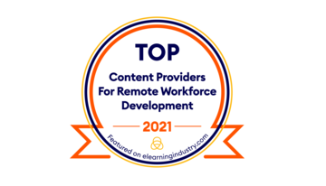Harbinger Interactive Learning Recognized as One of the Top Content Providers for Remote Workforce Development 2021