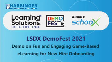 DemoFest—Fun and Engaging Game-based eLearning for New Hire Onboarding
