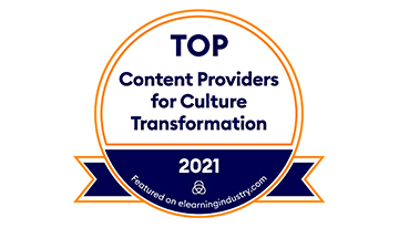 Harbinger Interactive Learning Recognized as One of the Top Content Providers for Cultural Tranformation