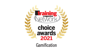 Harbinger Interactive Learning won the prestigious Training Magazine Network Choice Award 2021 for outstanding training products and solutions in Gamification category